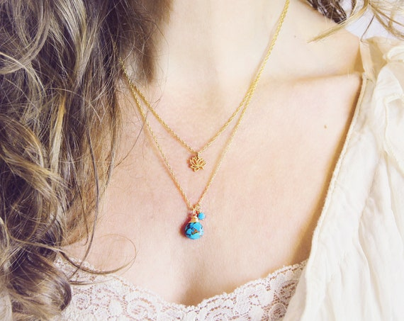 Arizona Turquoise Necklace - Genuine Turquoise Jewelry
