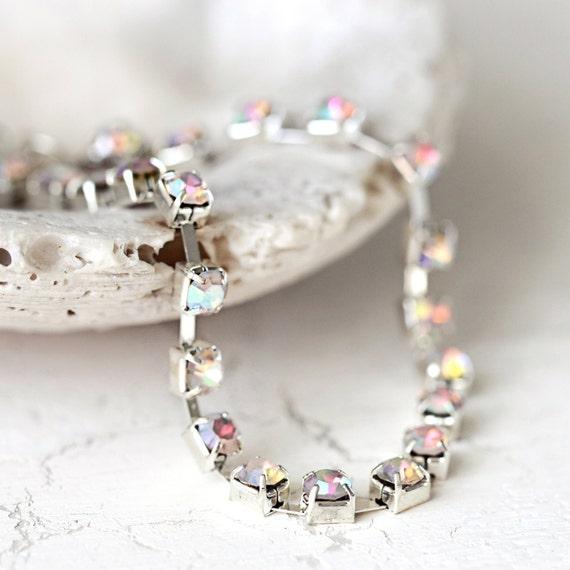 Diamanté Bracelet - Dainty Crystal Bracelet