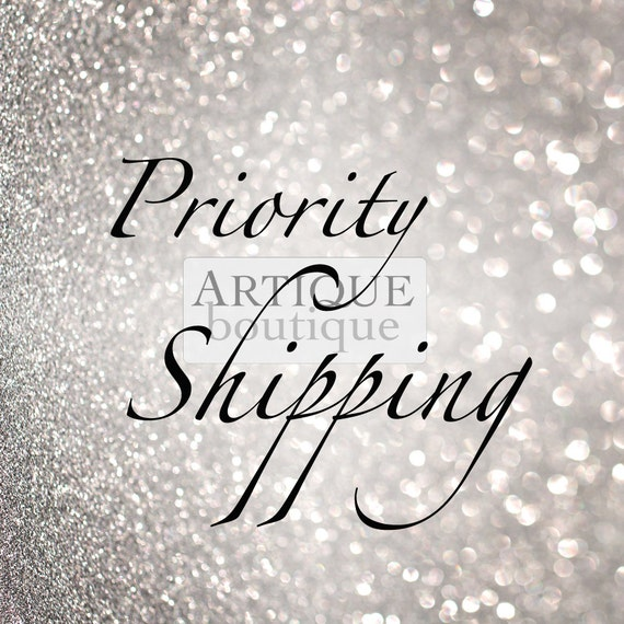 International Priority Shipping Upgrade via Royal Mail