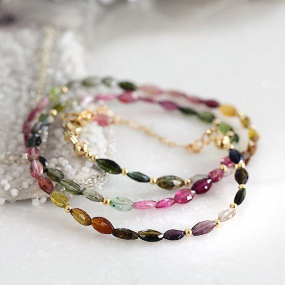 Tourmaline Necklace -  October Birthstone Necklace