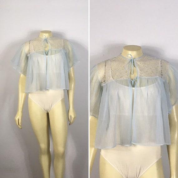 40s 50s Bed Jacket| Delicately Beautiful GMC Accor