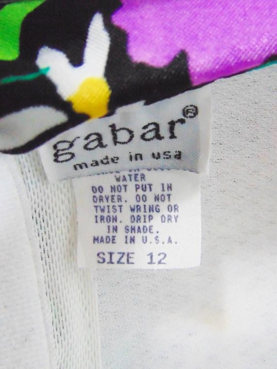 Gabar Bullet Bra Swimsuit | Vintage Swimsuit | Ne… - image 10