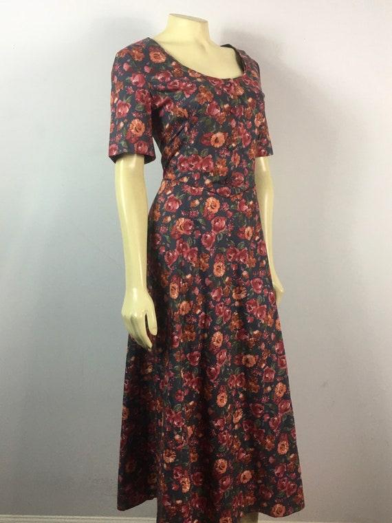 90s Laura Ashley Dress| 90s Laura Ashley Floral E… - image 5