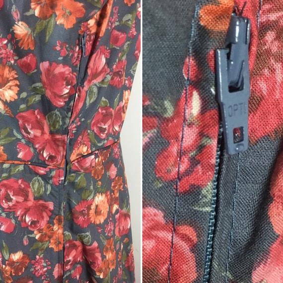 90s Laura Ashley Dress| 90s Laura Ashley Floral E… - image 9