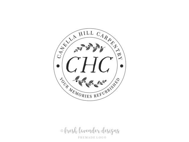 Logo Design, Custom Logo, Stamp Logo, Hand Drawn Logo, Rustic Logo, Vintage Logo, Photography Logo, Branding, Photography Logo