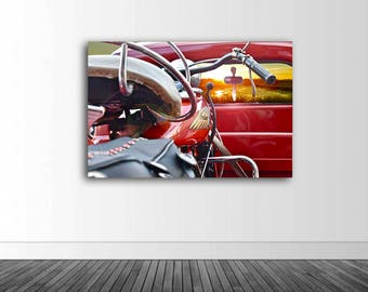 Sunset View, Photography, Vinyl Wall Decor, Indian Motorcycle, Photos by Abby Smith, Infinite Graphics, Wall Mural, Vinyl Mural, Home Decor