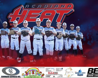 Team Sports Banner, Sports Banners, Vinyl Banner, Team Graphics, Outdoor Banners, Softball Banner, Baseball Banner, Sponsor Banners, Banners