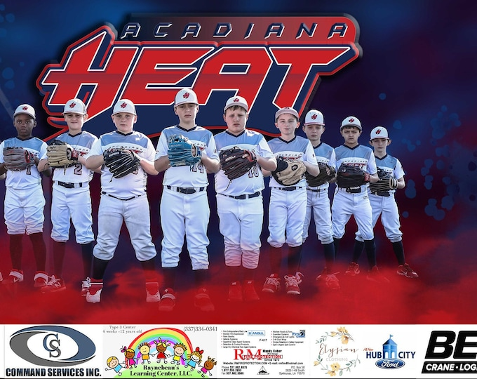 Featured listing image: Team Sports Banner, Sports Banners, Vinyl Banner, Team Graphics, Outdoor Banners, Softball Banner, Baseball Banner, Sponsor Banners, Banners