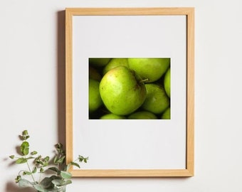 Green Apple Photography, Photography, Kitchen Decor, Apples, Apple Themed Decor, Green Apple, Traditional Kitchen, Photo by Abby Smith, Art