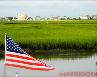American Flag Photography, Photography, American Celebration, USA Flag, by Abby Smith, Coastal Carolina Photo, Home Decor, Americana