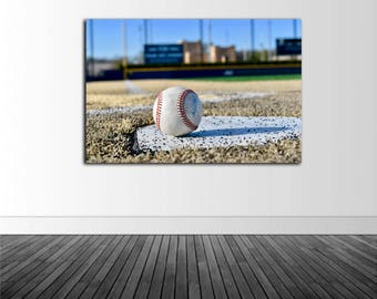 Baseball Stadium, Frank Eck Baseball Stadium, Vinyl Wall Decal, Infinite Graphics, Notre Dame University, Notre Dame Baseball, Stadium Mural