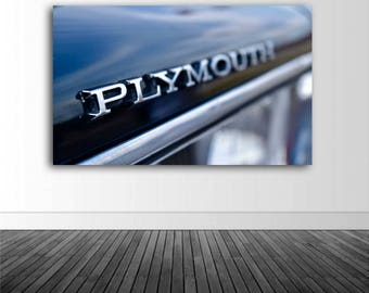 Plymouth Photography, Plymouth Wall Decal, Vinyl Wall Graphics, Vinyl Wall Decal, Photography, Photo by Abby Smith, Infinite Graphics, Art