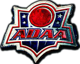 Dodgeball Decal, American Dodgeball Association of America, Movie Decal, Vinyl Wall Decal, Vinyl Stickers, Infinite Graphics, Wall Art, Ball