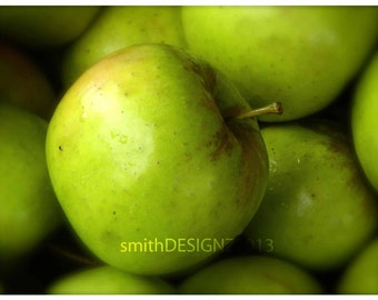 Green Apple Photography, Photography, Kitchen Decor, Apples, Apple Themed Decor, Green Apple, Tradition Kitchen, by Abby Smith