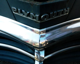 Classic Plymouth, Automotive Photography, Vintage Auto Photo, Guy Stuff, Man Cave Decor, Photo by Abby Smith, Plymouth, Automobile Art, Cars