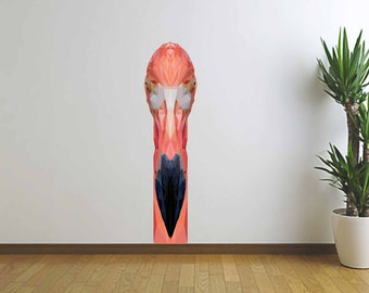 Flamingo Wall Sticker, Vinyl Wall Decal, Flamingo Art, Polygonal Design, Modern Art, Home Decor, Infinite Graphics, Wall Sticker, Pink Bird