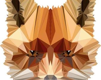 Geometric Polygonal Art