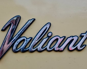 Vinyl Wall Decal, Classic Car Emblem, Automotive Art, Photography, Photo by Abby Smith, Infinite Graphics, Vinyl Graphics, Plymouth Valiant