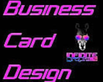 Business Cards, Business Card Design, Graphic Design, Business ID, Infinite Graphics, Designs by Abby Smith, Company Card, Logo Design, Card