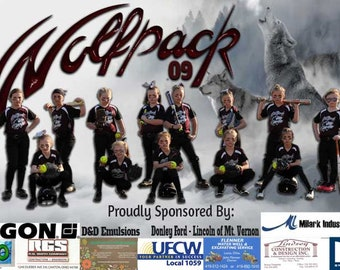 Sports Banners, Team Banners, Rodeo Banners, Sponsor Banners, Vinyl Banners, Infinite Graphics, Custom Banners, Photo Banners, Senior Banner