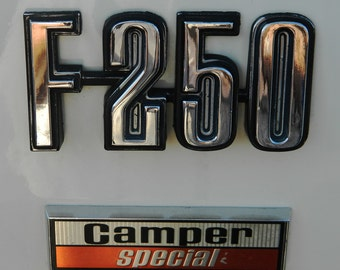 F-250 Photography, F-250 Camper Special, Ford Photography, Ford Truck Photo, Truck Decor, Home Decor, Man Cave, Photo by Abby Smith,