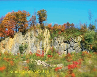 Mountain Photography, Woodland Photography, Nature Landscape, Wall Art, Fall Colors, Home Decor, Photo by Abby Smith