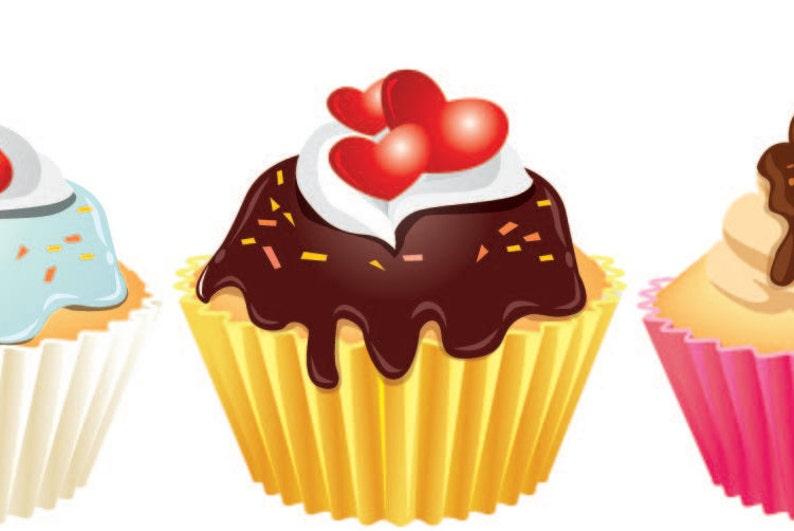 Overwhelming Cupcake Bedroom Decor