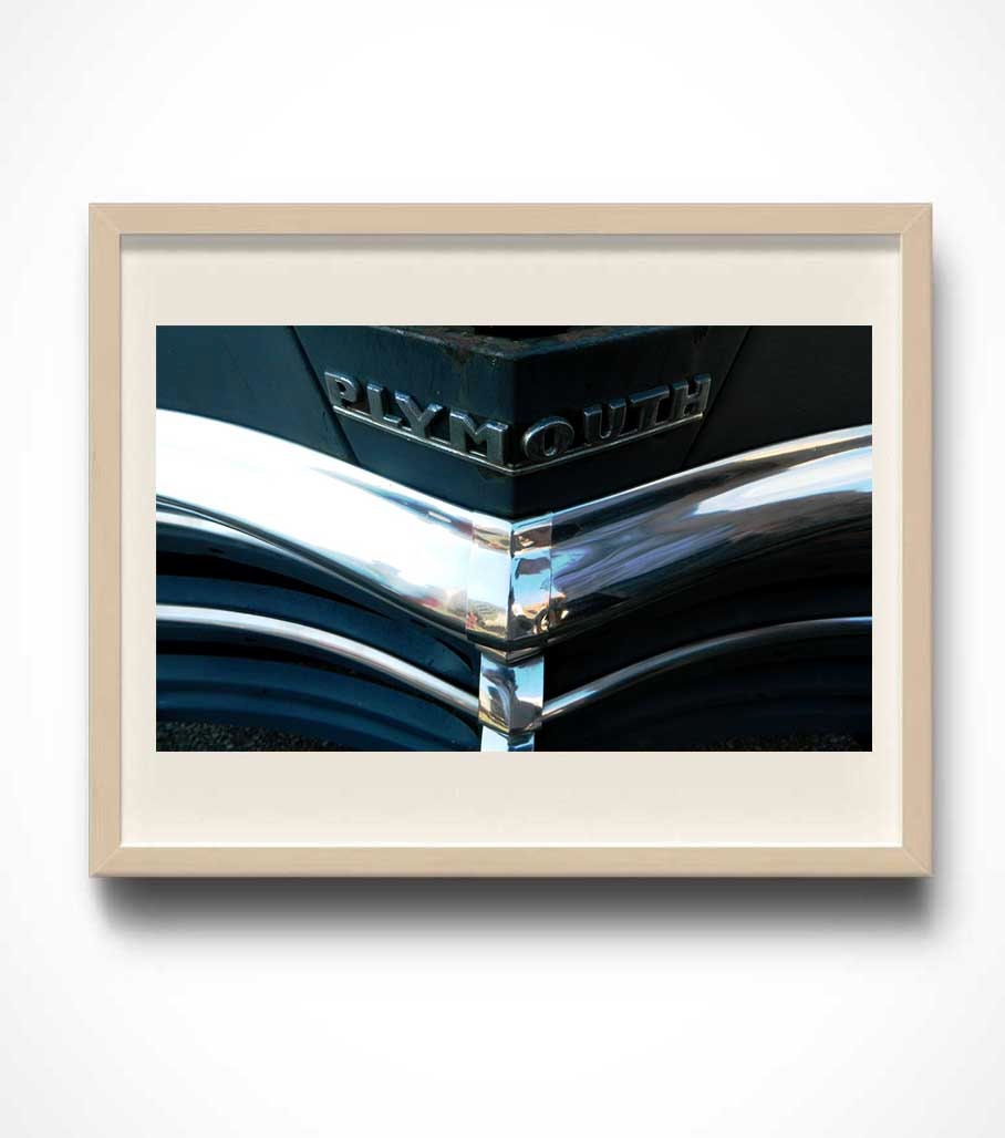 Classic Plymouth, Automotive Photography, Vintage Car
