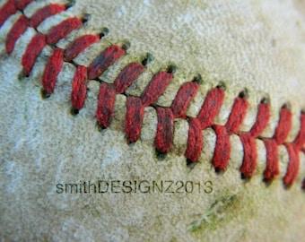 Baseball Decor, Baseball Wall Decal, Sports Theme Decor, Baseball Graphics, Vinyl Wall Decal, by Abby Smith