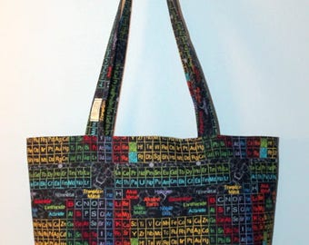 Periodic table bag etsy popular items for periodic table bag urtaz Images