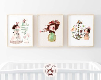 "TRIO-Set of 3 Medium Size (8"" x 10"") Prints -Promotion"