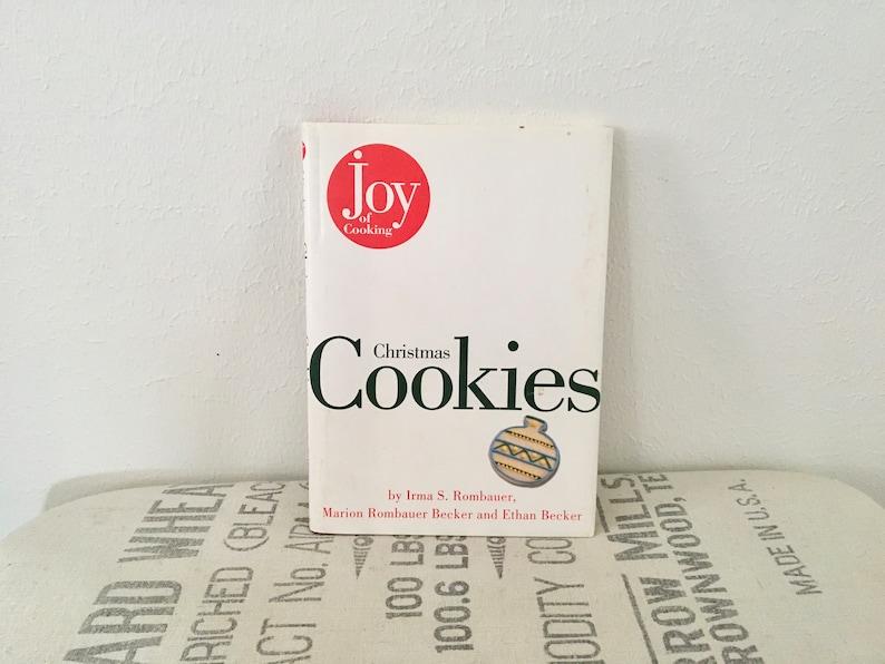 Vintage Joy Of Cooking Christmas Cookie Cookbook 1996