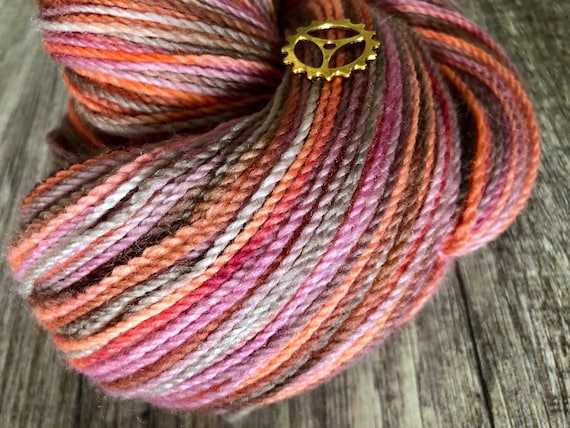 Hand dyed sock yarn, merino/nylon