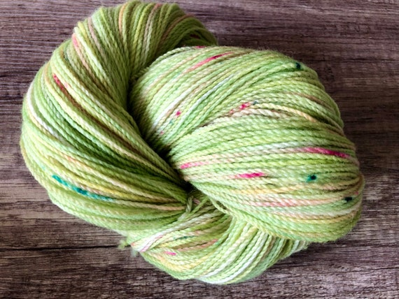 Hand dyed sock yarn, merino/nylon