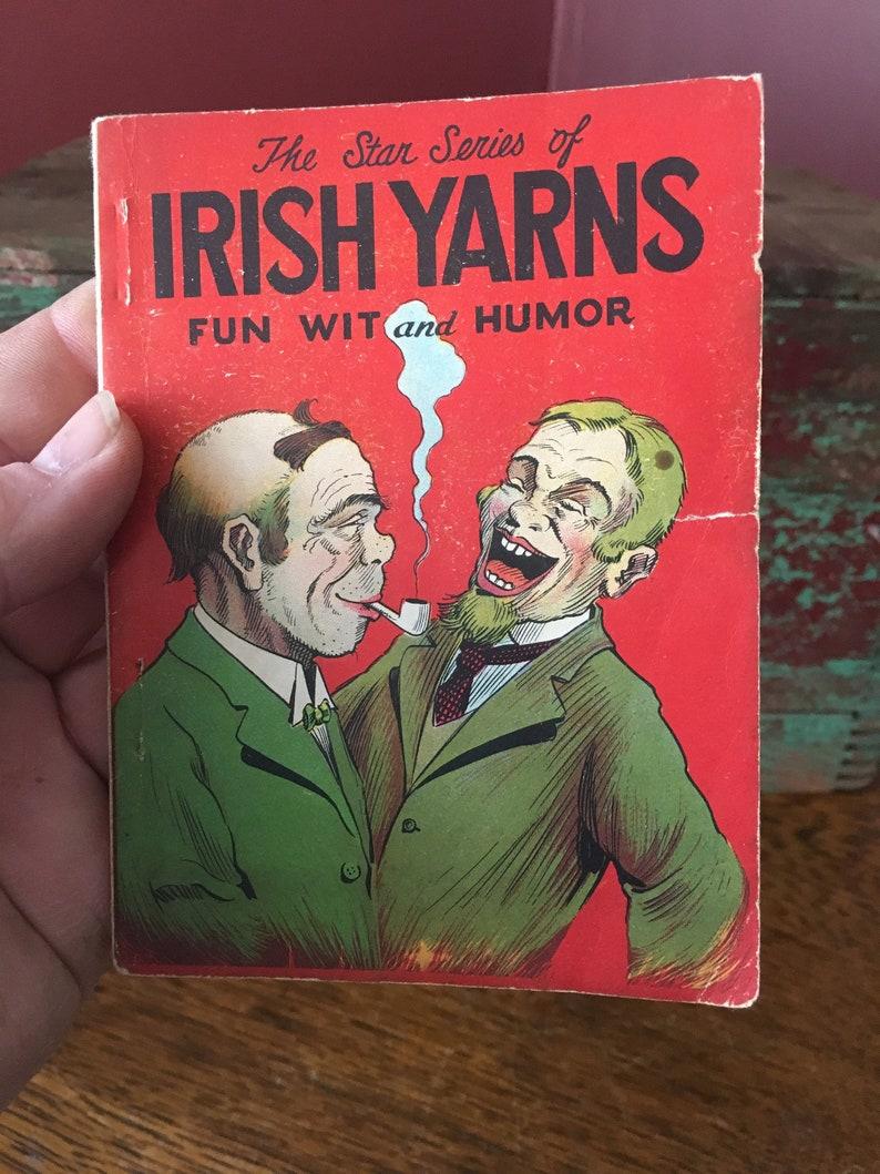Map Of Ireland Book.Vintage Pair Irish Yarns Book Map Of Ireland 1976 Irish Humor Map Of Dublin Vintage Ireland Free Shipping