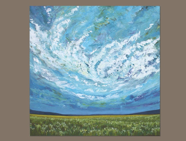 Image result for green fields in modern painting