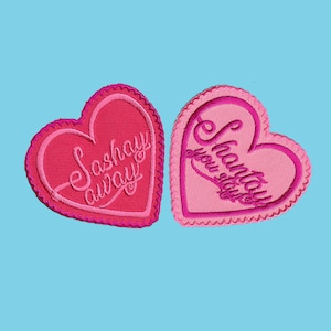 Sickening Embroidered Patch  Vegan Adhesive  RPDR RuPaul/'s Drag Race Queen LGBT Queer Trans Flawless Iron or Sew On Patches