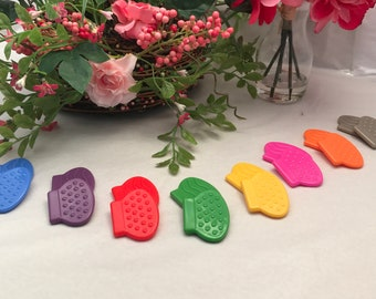Animal Paws Silicone Teether // 1.5 inches // Sew In Teether // Baby Toys // Teething Toy // Toy Making Parts // Baby Teething // Handmade