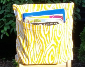 Chair Pockets // 16 inch VALUE // Yellow Willow //  Teacher Classroom // Organization // Kindergarten Elementary School  //Expandable Pocket