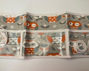 Utility Apron // Owl Guess Who // Teacher Apron // Clear Pocket Apron // Craft Apron //Teacher Gift // Gift Idea // Under 25