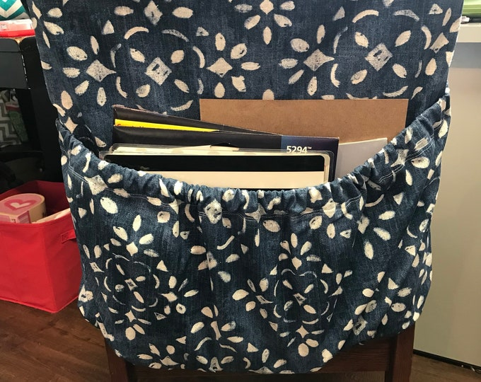 Chair Pocket Storage for Dorm Rooms // Chair Pockets // Seat Sacks // Small Storage Space // College Dorm Room Organization // You Choose