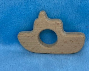 Boat Wood Shape // Wood Animal Shapes // Wooden Teether // Wooden Animal Toys // Wood Baby Shapes // Eco Friendly