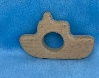 lake life BOAT Wood Shape // Wood Animal Shapes // Wooden Teether // Wooden Animal Toys // Wood Baby Shapes // Eco Friendly