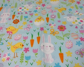 Easter Baby Blanket Kit // Lovey Blanket // Minky Cuddle Toy // Security Blanket // Handmade // Baby For Baby // EASTER MEDLEY