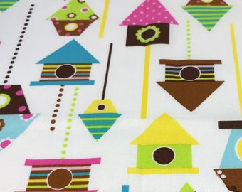 DIY Sewing Kit  4 Baby // Baby Blanket Kit w/ Basic Instructions to Design Your Own Baby Gift // Birdhouse