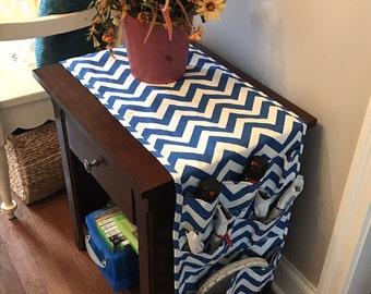 64 Inch Dorm Room // Table Runner // Pocket Organizer // Nightstand // Fridge // Refrigerator Storage // College Organization // Gift Idea