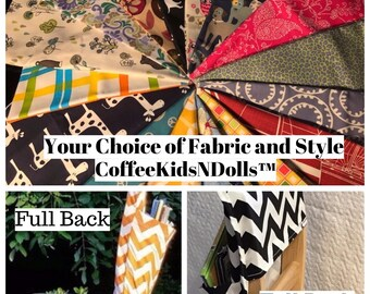 Chair Pockets Seat Sacks for School // Supply List // LiMiTeD EdItIoN PrInT FaBrIcS  // Elementary School // Embroidery Option
