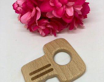 beech wood KEY shape <63>