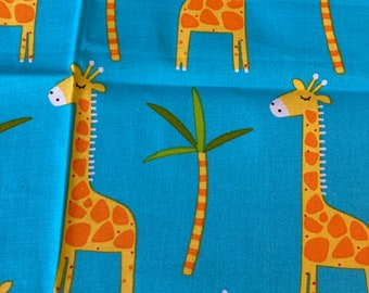 DIY Sewing Kit  4 Baby // Baby Blanket Kit w/ Basic Instructions to Design Your Own Baby Gift // No Toys // Just Giraffes ((44))