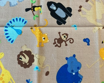 DIY Sewing Kit  4 Baby // Baby Blanket Kit w/ Basic Instructions to Design Your Own Baby Gift // The Wild ((43))